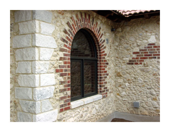 Example of an Exterior Stucco wall